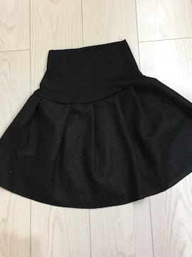 ☆‥黒のミニスカート・ウエストゴム‥☆