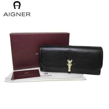 アイグナー156166-002 長財布 レディース