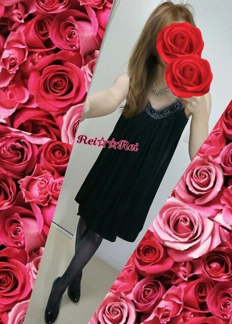 ☆axes femme 黒 サテン ワンピ 胸ビジュー☆ < ブランドの