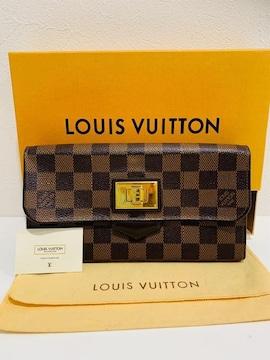 ◆正規品◆ 極上美品 ◆ルイヴィトン ダミエローズベリー 長財布