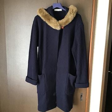 日本製ニットロングコート