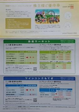 ☆鈴鹿サーキット ツインクルもてぎ 株主優待券☆
