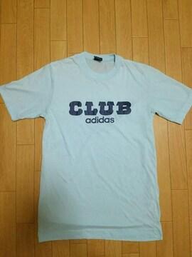 80s デサント製 CLUB adidas Tシャツ