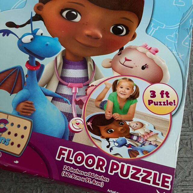 新品 知育玩具 ドックはおもちゃドクター フロアーパズル < おもちゃの