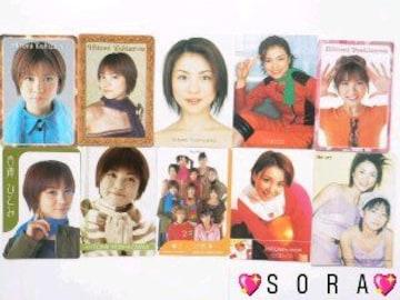 【吉澤ひとみ】トレーディング.コレクションカード.トレカ 10枚セット �@