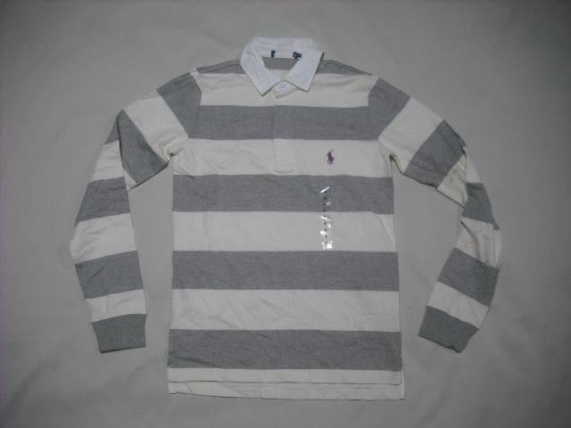 ow172 女 RALPH LAUREN ラルフローレン ラガーシャツ Sサイズ  < ブランドの