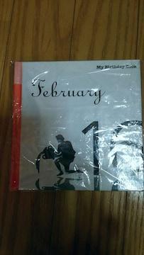 バースデーブックbirthday book2月16日生まれ