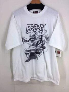 A BATHING APE(アベイシングエイプ)SHARK WIDE TEEクルーネックTシャツ