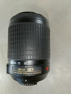 Nikon DX 55-200mm 美品 ちょっと難あり