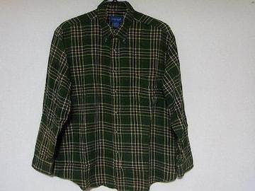 即決USA古着TOWN CRAFTチェックデザインネルシャツ!アメカジビンテージレア
