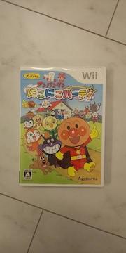 Wii☆アンパンマン☆にこにこパーティ☆美品
