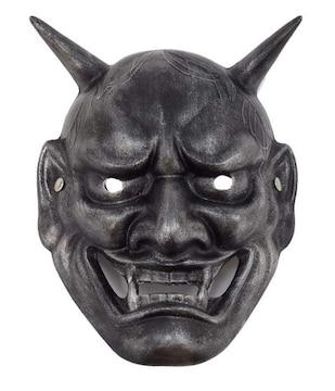 般若 マスク お化け屋敷 シルバー