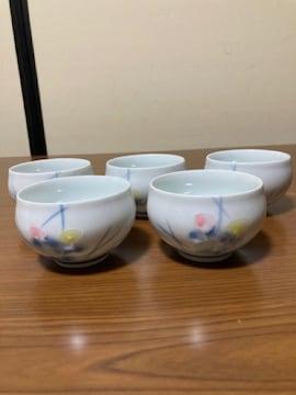 高級 有田焼 香窯 茶碗 5客