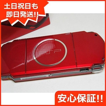 ◆安心保証◆新品未使用◆PSP-3000 ラディアント・レッド◆