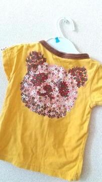 サイズ90☆バクプリパンダTシャツ