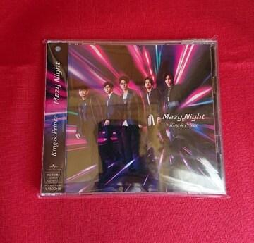 (初回限定盤A)CD+DVD King & Prince Mazy Night