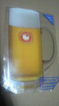 ハローキティ ビールプラスチック ハガキ 新品インテリアにも