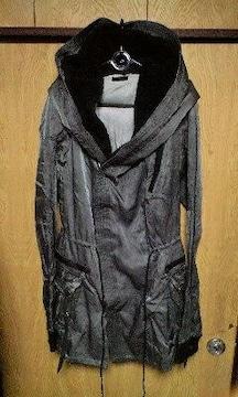 新品KMRIIケムリ ダスト加工フーデットモッズコート 2 HOODED TWIL COAT02