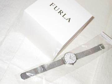 未使用☆FURLAフルラ*シルバーステンレス製腕時計*レディース