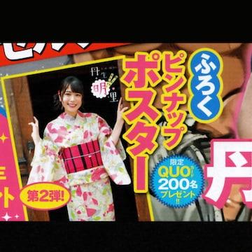 丹生明里(日向坂46)ピンナップポスター