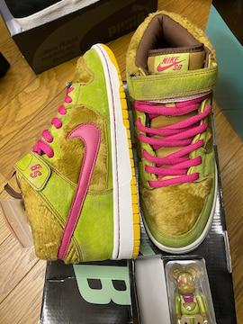 新品!Nike dunk SB MID be@rbrickコラボ 28cm エアジョーダンク