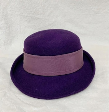 オールドディオール Christian Dior SPORTS 紫 ハット 帽子
