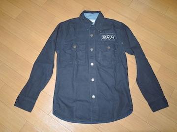ハリウッドランチマーケットHRMシャツジャケット1ハリラン切替