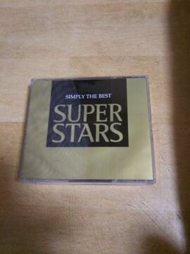 ★【CD】 sIMPLY THE BEST SUPER STARS 2枚組 ディスコ ダンス★