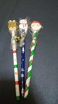 クリスマス鉛筆&消しゴムセット 新品 非売品