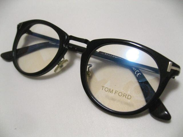 TOMFORD.トムフォードお洒落定番 世界最高のボストン型 現在伊達眼鏡 < ブランドの
