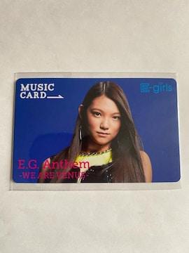 E-girls☆EG.Anthem☆須田アンナ MCカード☆