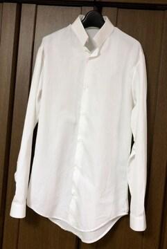 正規良 Dior Hommeディオールオム 細身ドレスシャツ白 ホワイト 37 XXS エディ期6H