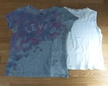 ☆リーバイス/Levi'sのTシャツ&PRIMITIQUEノースリーブの2枚セット★