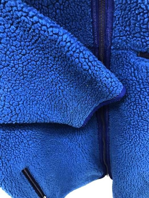 patagonia(パタゴニア)2001年製 ベビーレトロカーディガン USA製ジップアップフリ < 男性ファッションの