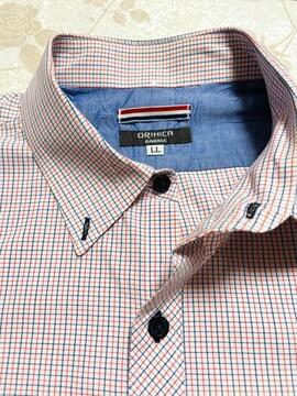 綿100%  ワイシャツ LLサイズ クリーニング済み