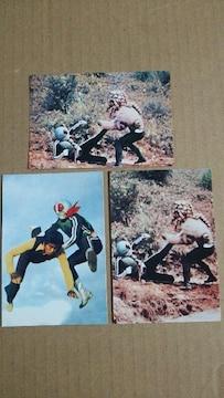 2003年カルビー仮面ライダーカード 3枚 仮面ライダーカード