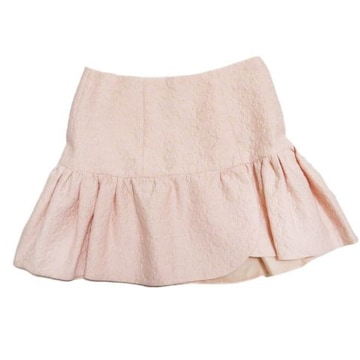 新品ミュウミュウ フレアミニスカート ピンク #40 miu miu