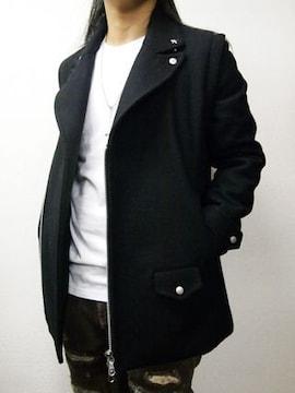 ブリューテンブラット ウールメルトンPコート M