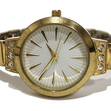良品【980円〜】AVON【ジルコニア】アンティーク 腕時計