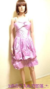 新同☆ICHIOKU☆光沢しゃか�A綺麗な姫ドレスD138☆3点で即落