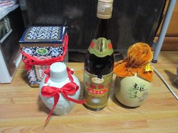 中国古酒3本