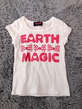 EARTHMAGIC★半袖Tシャツ100