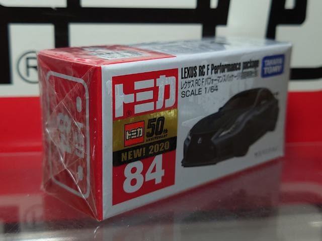 ★初回特別仕様赤箱トミカ84★レクサスRCFパフォーマンスパッケージ