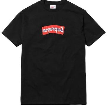 Supreme ギャルソン Box Logo Tee Black L Tシャツ