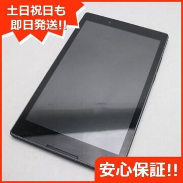●超美品●Y!mobile 602LV Lenovo TAB3 ストレートブラック●