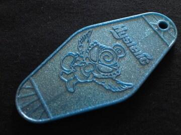 ≪ヒスミニ≫キーホルダートップ ラメ入り ブルー 正規