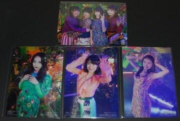 NMB48 床の間正座娘 特典生写真4枚セット