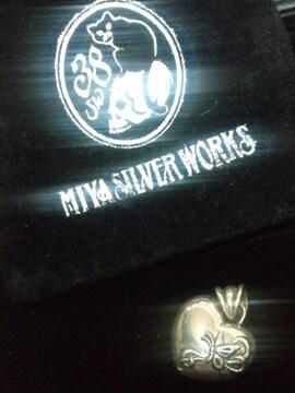 ミヤ シルバーワークス【38 Silver WORKS】SILVER シルバーペンダント トップ 11g