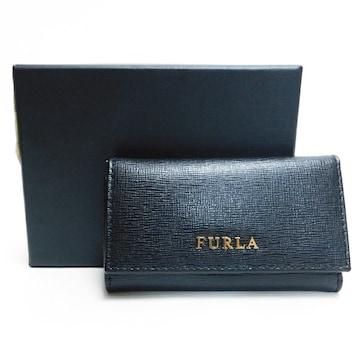 未使用超美品FURLA フルラ 5連キーケース 黒 良品 正規品