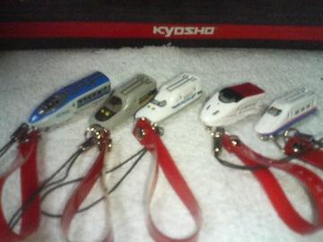コカ・コーラ 新幹線  携帯電話ストラップ未使用  ノーマル5種セット